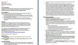 Syllabus Sample 1