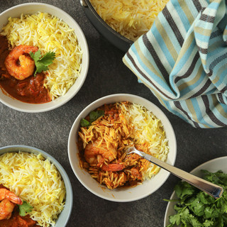 Shrimp Curry by Angie Shaghagi