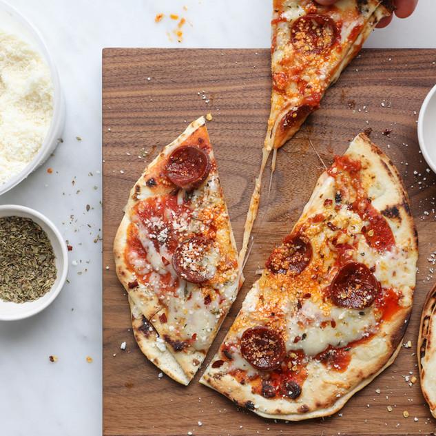 Quesadizza by Justin Chapple
