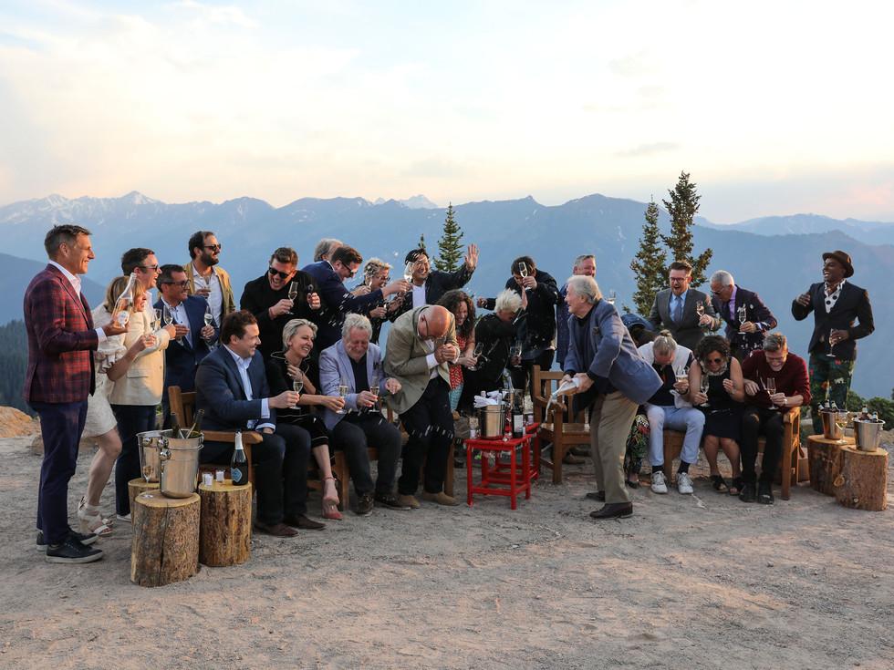 Food & Wine Mountain Top Toast, Aspen