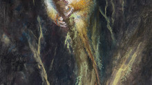 Pastel Painting: Ringtail possum