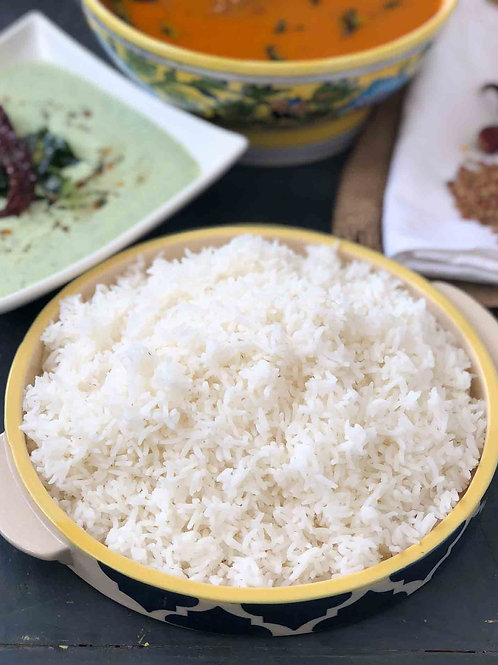 Veg Meals with White Rice