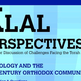 Klal Perspectives Journal