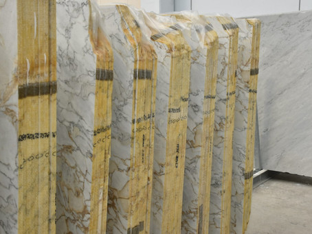 FFMARBLE: NEW ARABESCATO GOLD