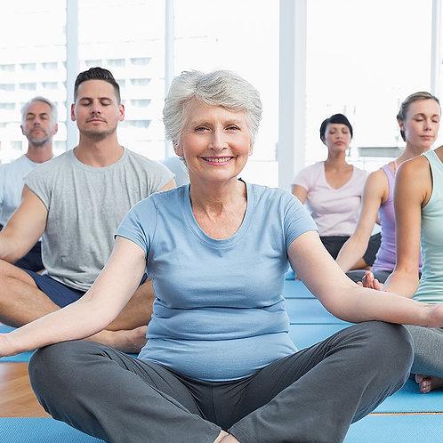 9-week ONLINE Program, Mindfulness-Based Stress Reduction (MBSR) with Carole