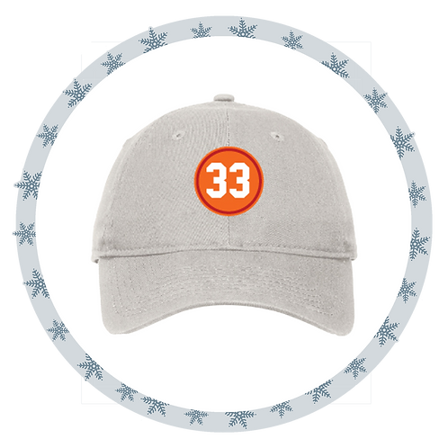 "Vintage ""33"" Patch Hat"