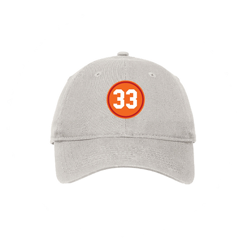 """Vintage """"33"""" Patch Hat"""