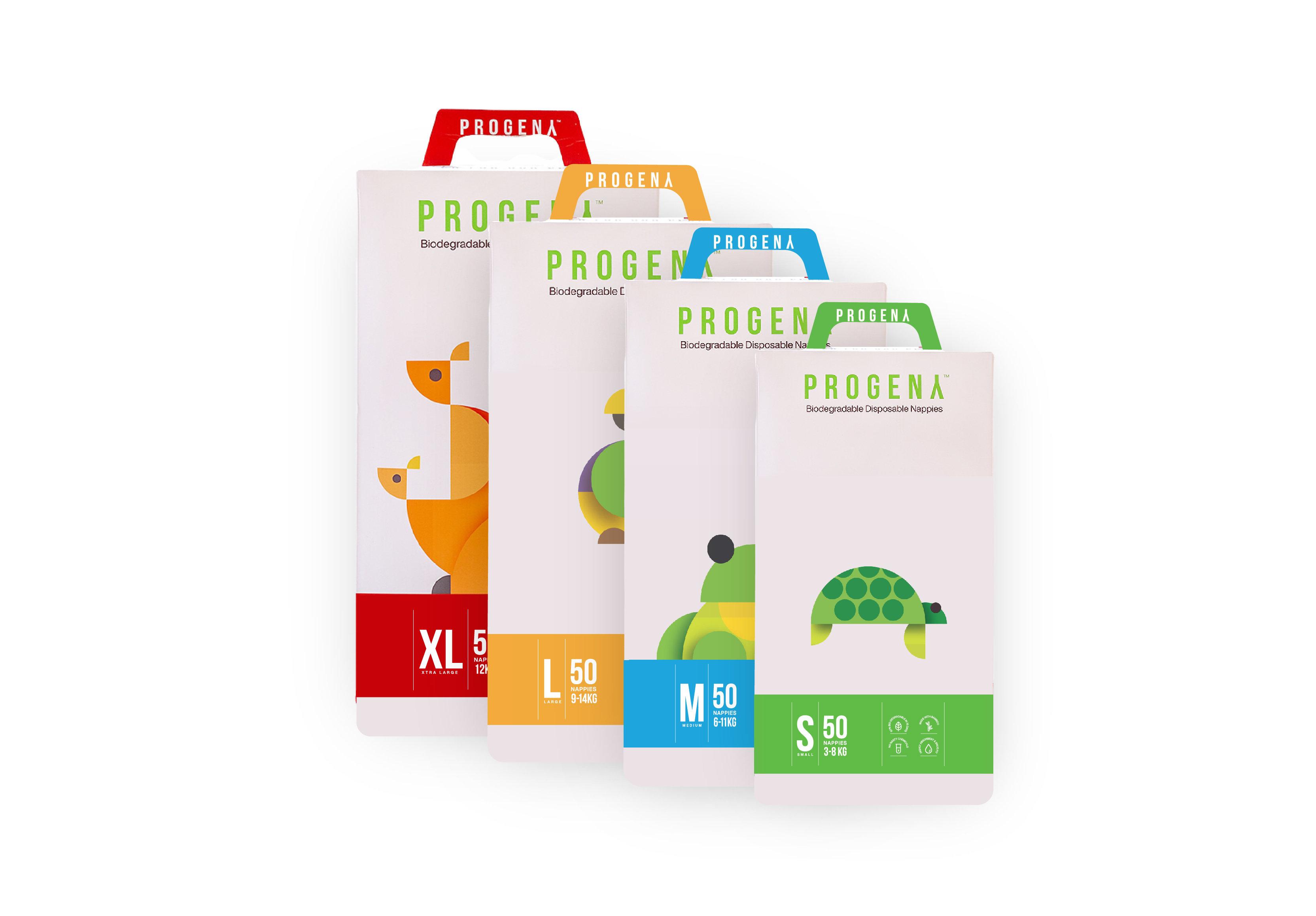 Progeny Nappies - 6 Packs | Progeny Stores