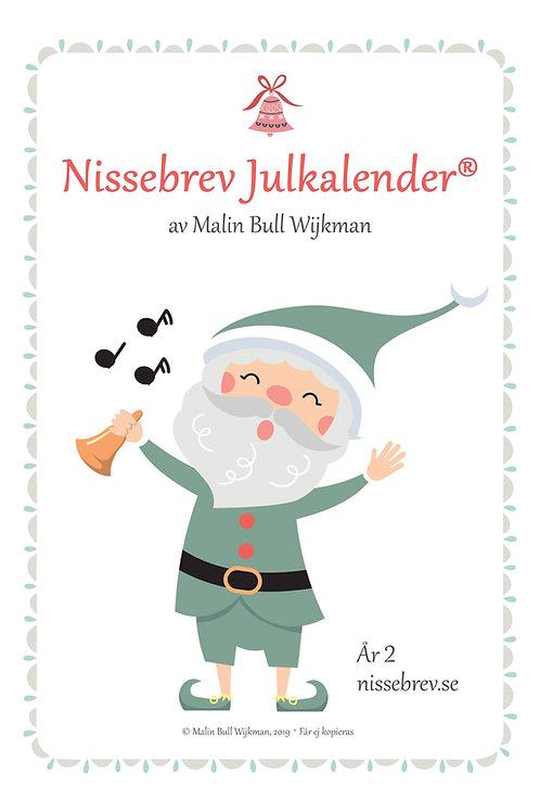 Nissebrev Julkalender® År 2