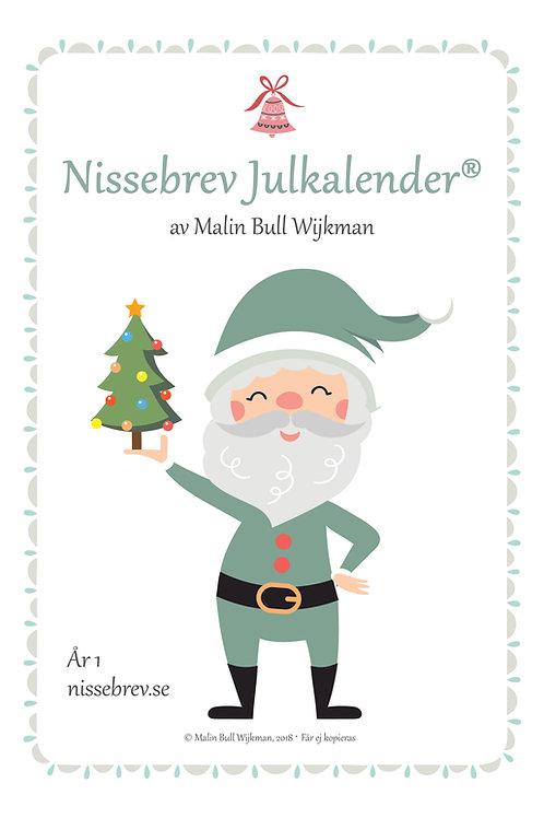 Nissebrev Julkalender® År 1