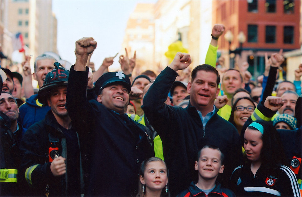 Mayor Walsh, Sports Illustrated cover sh