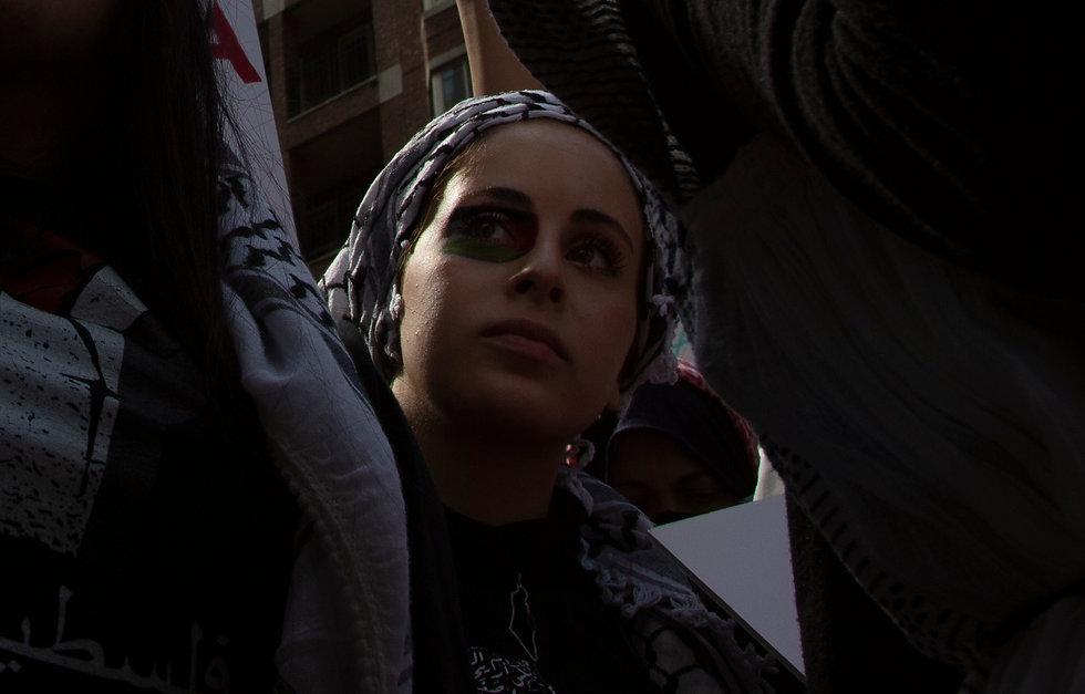 Bos Palestine Portrait stoklephotography