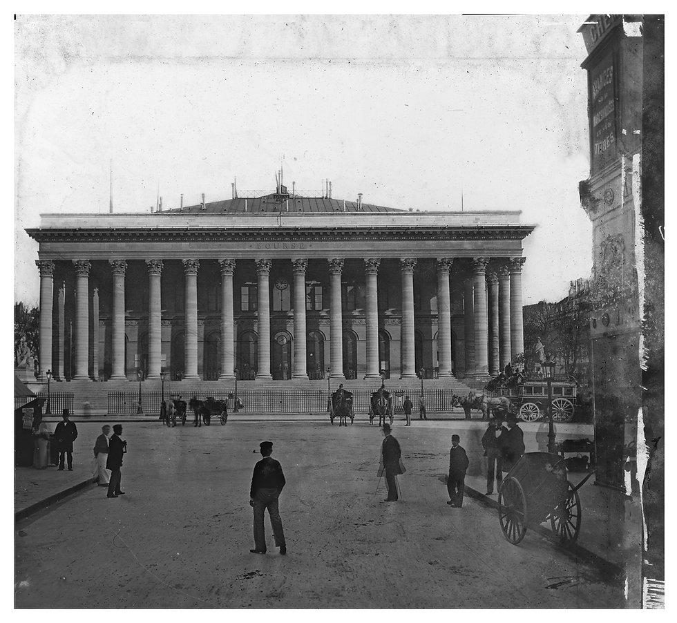 PARIS STOCK EXCHANGE CA 1880 (S SCHYLER
