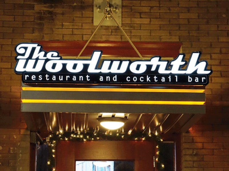 Woolworth Dallas Best Restaurant and Cocktail Bar