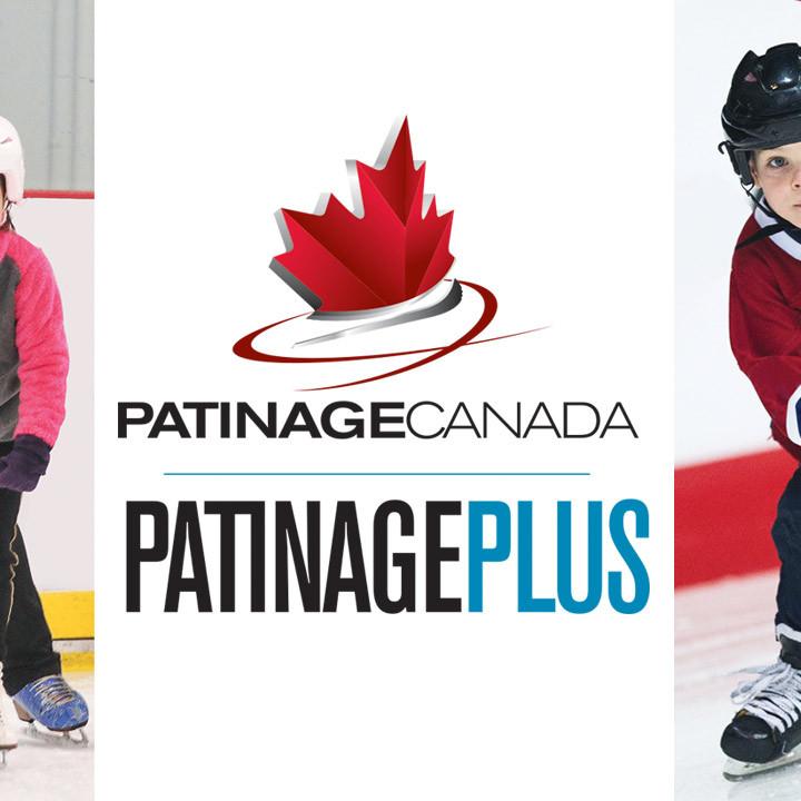 Inscription en ligne pour les patineurs du programme Patinage Plus