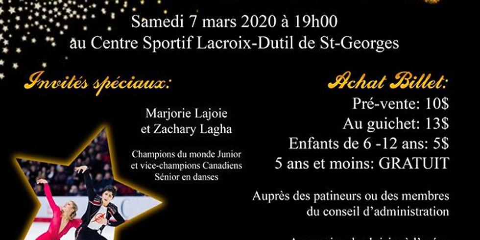 Spectacle de patinage artistique 2020