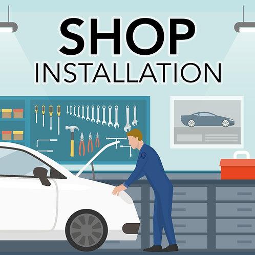 Shop Installation (Tempe, AZ)