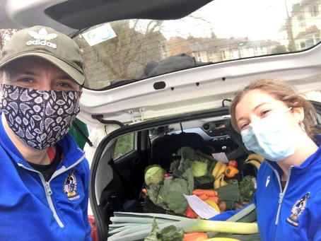 Community | Gas Girls volunteer to deliver fresh food to vulnerable families in Bristol