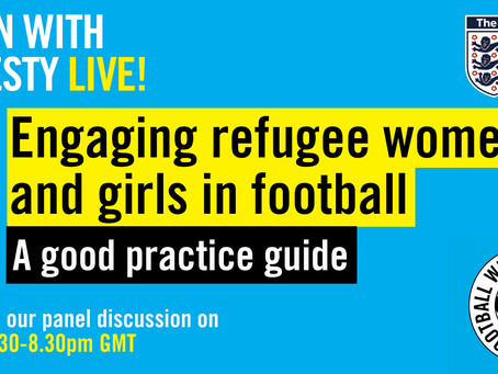 Community | Engaging Refugee Women in Football Launch Event