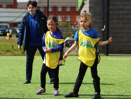 Participation | Free girls football sessions are back!