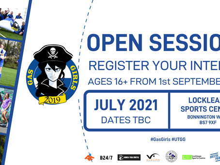 Register now for Gas Girls 'Open Sessions'