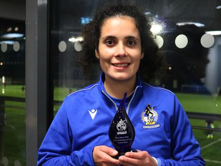 Rossana Rocha wins the 2019/20 Player of the Season
