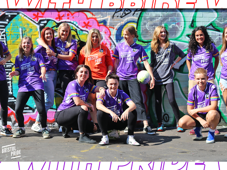 'Gas Girls' Launch Special Edition Away Kit With Bristol Pride