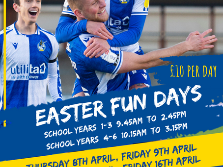 Easter 'Fun Days' On Sale Now!