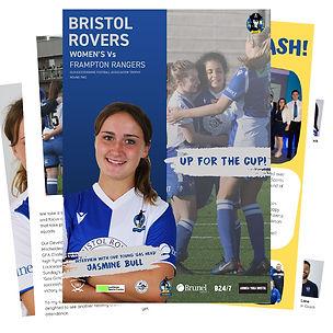 Bristol-Rovers-Women's-Match-Programme-S