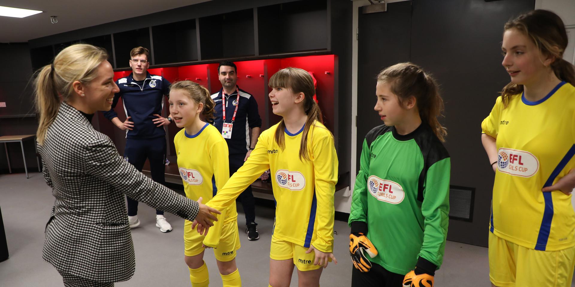 Bristol Rovers Women's Gas Girls EFL Gir