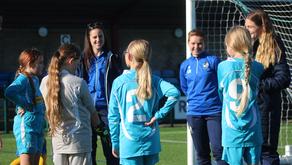 Community   'Gas Girls' support English Schools FA Girls Football Tournament