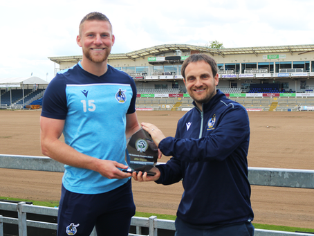 Alfie Kilgour and Georgia Vandries awarded PFA Community Champions for 2020/21