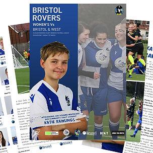 Bristol-Rovers-Vs-Bristol-&-West-Program