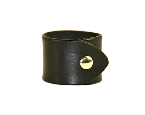 """2"""" Plain cuff. Available in black or brown"""