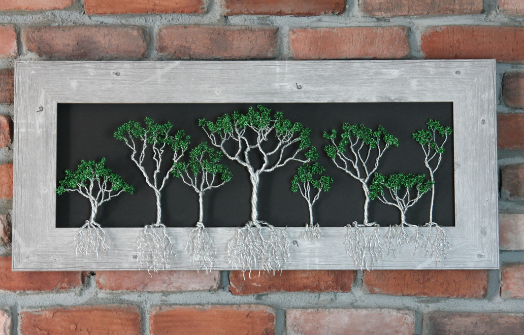 Framed Trees with Roots
