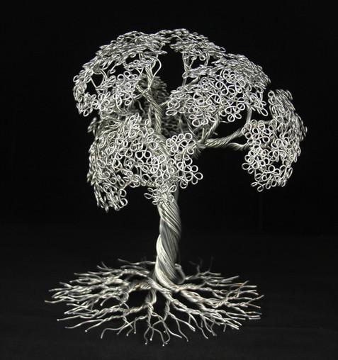Aluminum tree of life - Roots