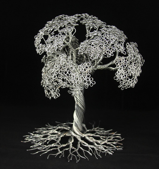 Aluminum tree of life - Roots