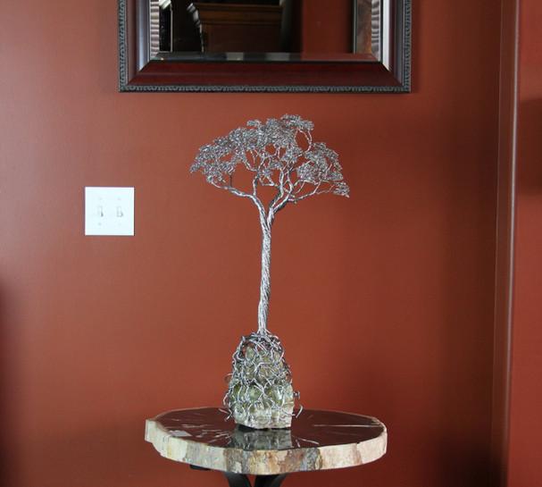28in Tree on Fluorite