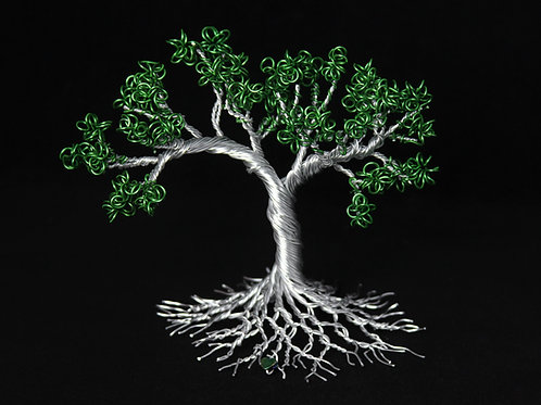 Green Bailey Tree of Life Sculpture #1251