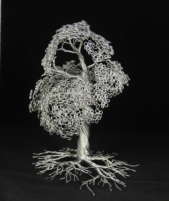 aluminum wire Tree
