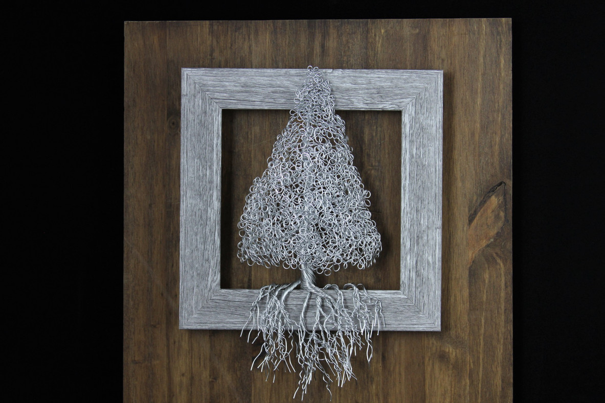 Framed Christmas Tree