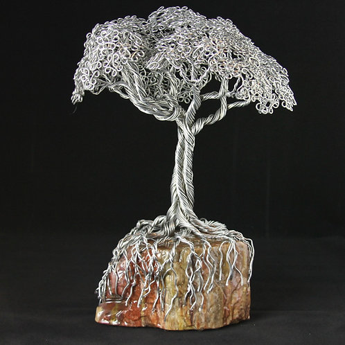 Rainbow Petrified Wood and Tree #2290