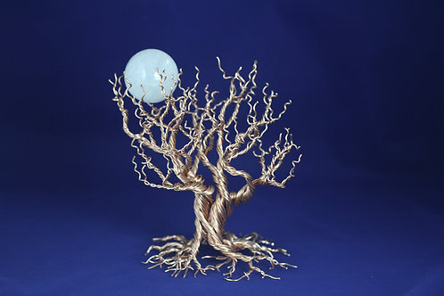 LG Copper Tree   Tree of Life   Quartz Mineral Moon