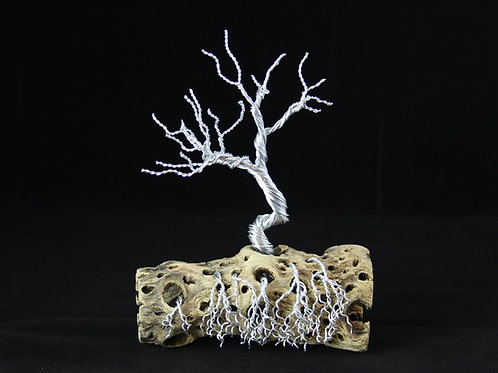 Tree of Life Sculpture on Cactus Branch #2293
