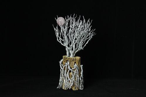 Tree of Life Sculpture on Cactus Branch Quartz #115