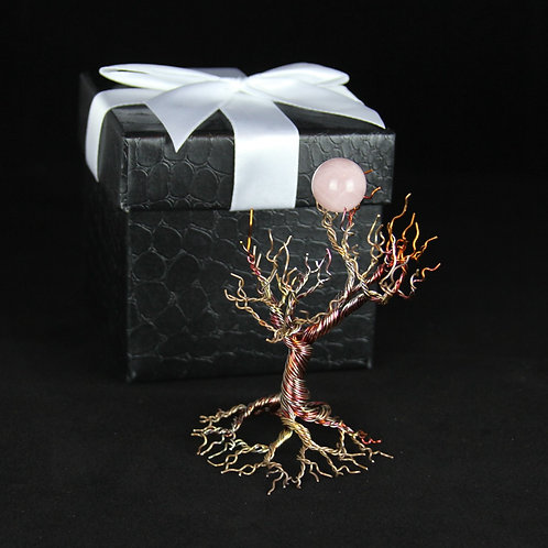 Copper Tree | Tree of Life | Art Sculpture | Gift Set #442