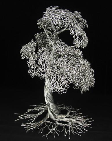 Aluminum tree of life