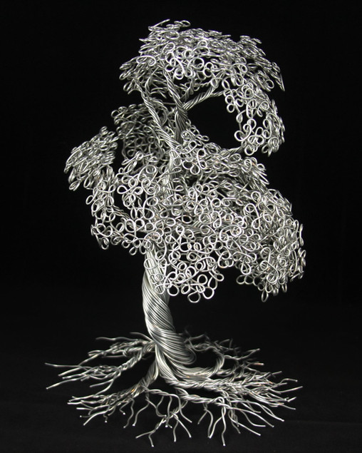 Aluminum tree of life