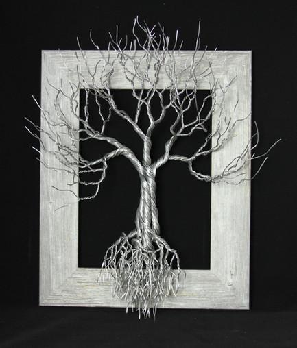 Framed Tree Sculpture
