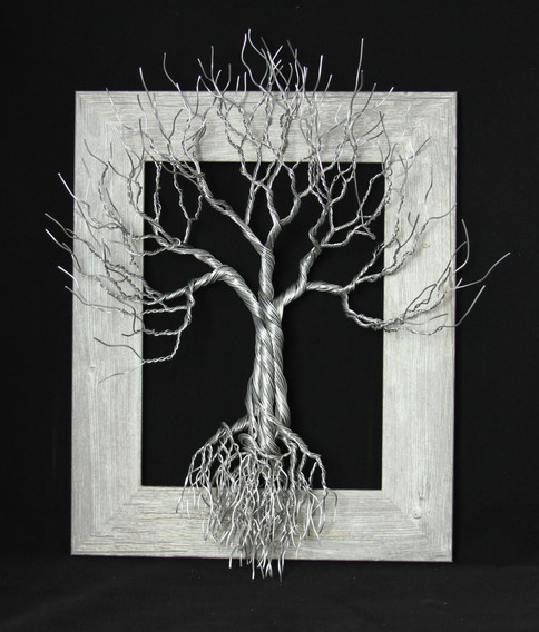 Framed Tree Sculpture